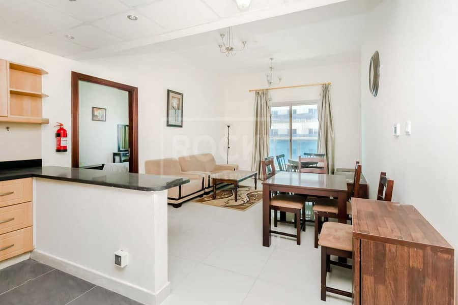 2 Furnished   1-Bed   Equipped Kitchen   Road View