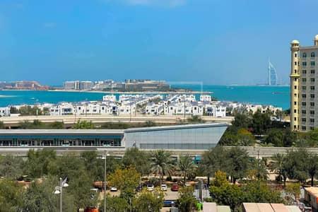 شقة 2 غرفة نوم للايجار في نخلة جميرا، دبي - Contemporary | Beach Access | Furnished