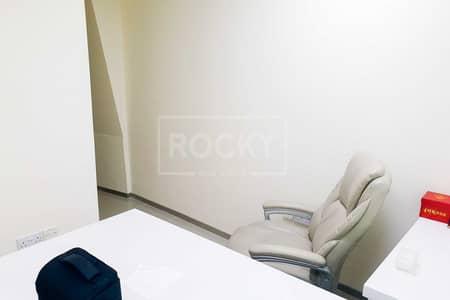 مکتب  للبيع في الخليج التجاري، دبي - Furnished Office | 3 Parking | Good ROI | Prime Location