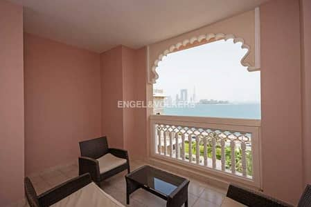 2 Bedroom Apartment for Rent in Palm Jumeirah, Dubai - Full Sea View | Resort Living | View Today