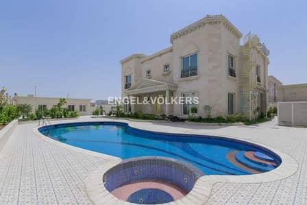 7 Bedroom Villa for Sale in Nad Al Hamar, Dubai - Elegant Fully Furnished Villa | Swimming Pool