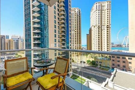 فلیٹ 1 غرفة نوم للبيع في مدينة دبي للإنترنت، دبي - Partial Sea View| Mid Floor|Furnished| VOT