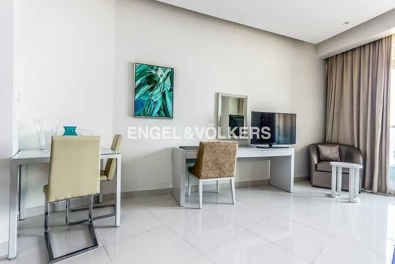 Furnished| Canal View| Balcony| High Floor