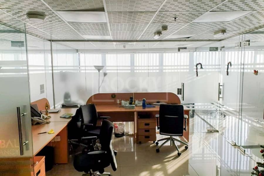 2 Fitted|Glass Partitioned|Office|Good ROI