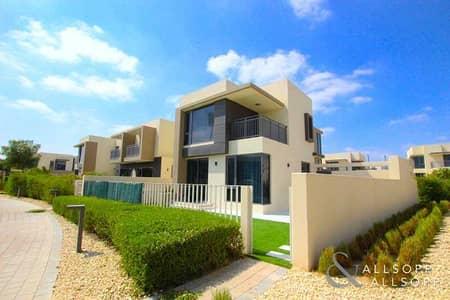 4 Bedroom Villa for Sale in Dubai Hills Estate, Dubai - Corner Plot | Single Row | Backing Green