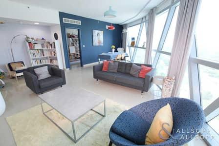 فلیٹ 2 غرفة نوم للبيع في مركز دبي المالي العالمي، دبي - Upgraded | Vacant on Transfer | 2 + Maids
