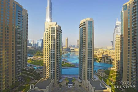 1 Bedroom Flat for Sale in Downtown Dubai, Dubai - 1 Bedroom + Study | Burj And Fountain View
