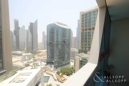 فلیٹ 1 غرفة نوم للبيع في مركز دبي المالي العالمي، دبي - One Bedroom | DIFC View | Rented | Balcony