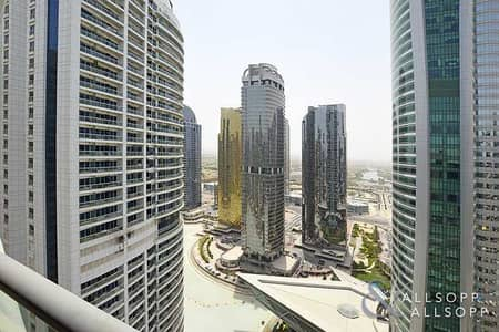 2 Bedroom Flat for Rent in Jumeirah Lake Towers (JLT), Dubai - Two Bedrooms | High Floor | Unfurnished