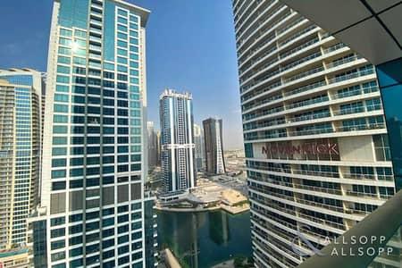1 Bedroom Apartment for Sale in Jumeirah Lake Towers (JLT), Dubai - 1 Bedroom + Study | Lake Views | Balcony