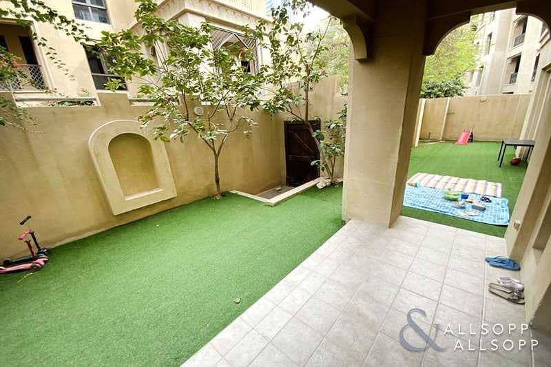 2 Three Bedrooms | Garden Apartment | Study