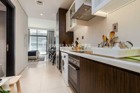 Hotel Apartment for Sale in DAMAC Hills (Akoya by DAMAC), Dubai - Golf Course View | Large Terrace | Vacant