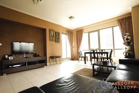 فلیٹ 1 غرفة نوم للبيع في وسط مدينة دبي، دبي - Fully Furnished | Garden/Pool View | 1 Bed