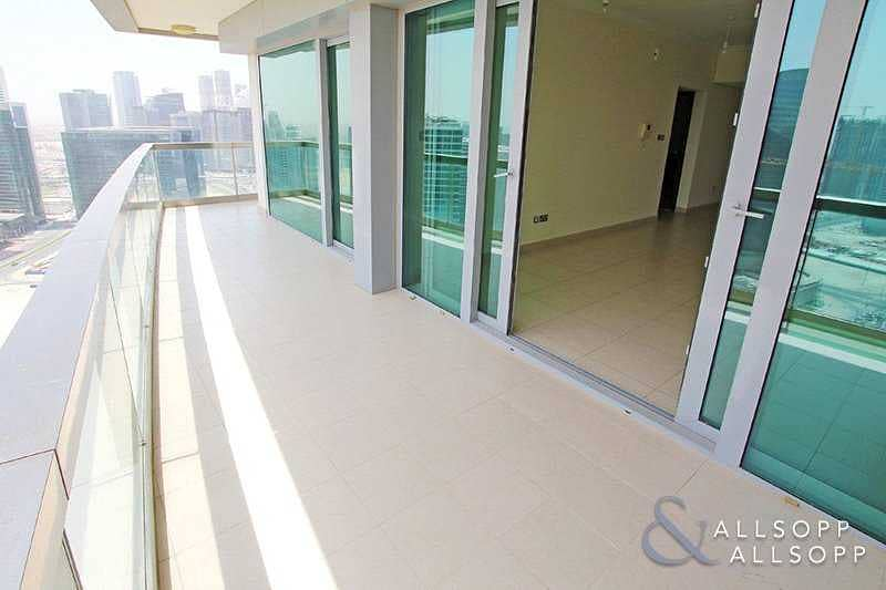 2 Rented | High Floor | Large Balcony | 1Bed
