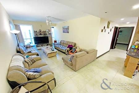 شقة 2 غرفة نوم للبيع في أبراج بحيرات الجميرا، دبي - High Floor   Lake View   Two Bedroom