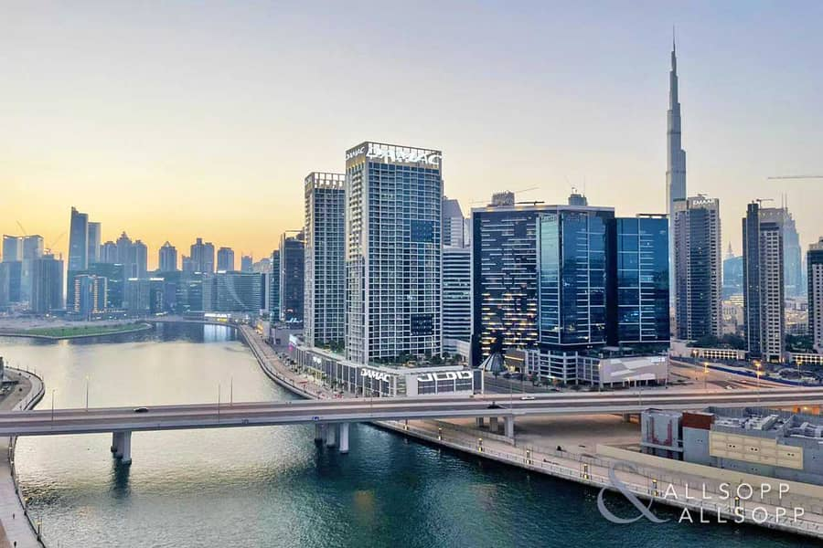2 Burj Khalifa and Canal View | One Bedroom