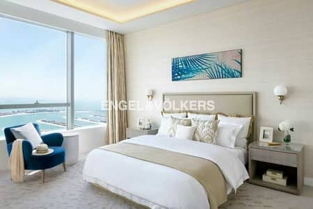 استوديو  للبيع في نخلة جميرا، دبي - Two Available Side by Side|High Floor |Resale