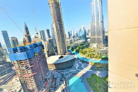 فلیٹ 2 غرفة نوم للبيع في وسط مدينة دبي، دبي - burj khalifa views-high floor-opera views