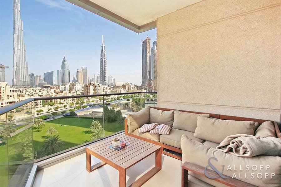 Full Burj Khalifa View | 2 Bed | Vacant