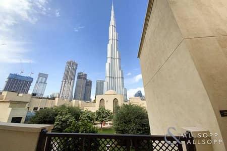 فلیٹ 1 غرفة نوم للبيع في وسط مدينة دبي، دبي - Vacant | Exclusive | Burj Views | 1 Bed
