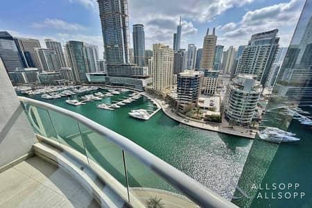 شقة 3 غرف نوم للبيع في دبي مارينا، دبي - Full Marina View   Tenanted   3 Bed+Maid