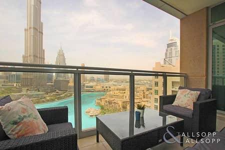 فلیٹ 3 غرف نوم للبيع في وسط مدينة دبي، دبي - Three Beds   High Floor   Burj Khalifa View
