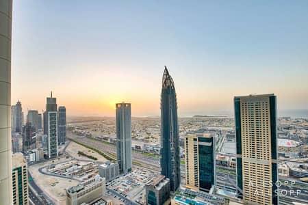 2 Bedroom Apartment for Sale in Downtown Dubai, Dubai - 2 Beds | High Floor | Sea Views | Vacant