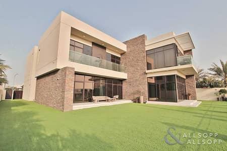 6 Bedroom Villa for Sale in DAMAC Hills (Akoya by DAMAC), Dubai - Vacant | Executive 6 Bed Golf Course Villa