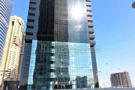 مکتب  للبيع في أبراج بحيرات الجميرا، دبي - Vastu compliant | High floor | Firred office