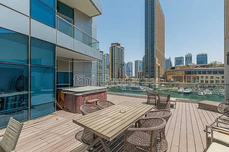 4 Bedroom Villa for Sale in Dubai Marina, Dubai - Marina View Amazing 4BR+M Triplex Villa