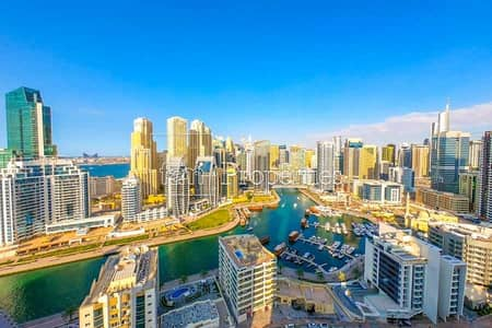 1 Bedroom Flat for Sale in Dubai Marina, Dubai - Premium Unit  Full Marina  Furnished  High Floor