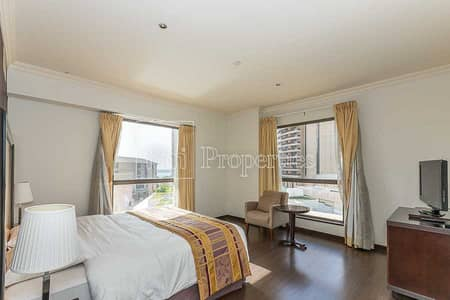 3 Bedroom Flat for Rent in Jumeirah Beach Residence (JBR), Dubai - Chiller Free   Amazing Landlord   Courtyard View