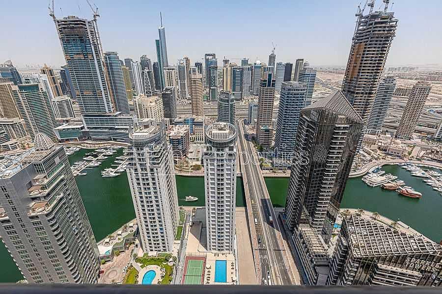 JBR Apt with Amazing Marina View | High floor