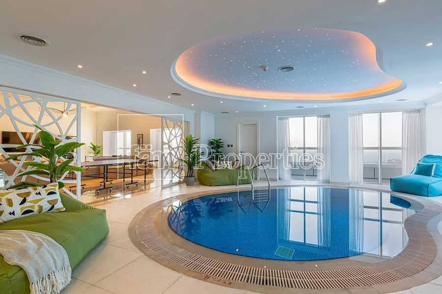 Half Floor I 4BR+Maid's + Laundry I Indoor Pool