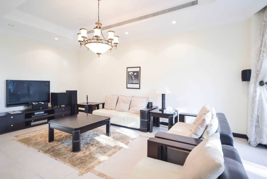 2 Furnished-option | Garden and Sea views | Frond M