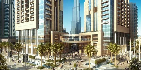 2 Bedroom Apartment for Sale in Downtown Dubai, Dubai - No Commission | 2 Beds  with Boulevard View