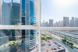 شقة في برج سابا 2 أبراج سابا أبراج بحيرات الجميرا 1 غرف 55000 درهم - 5123840