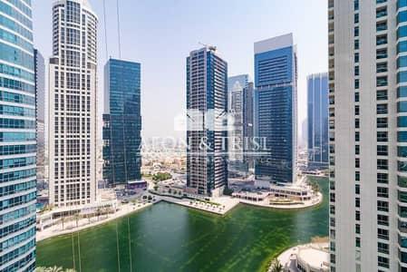 1 Bedroom Flat for Sale in Jumeirah Lake Towers (JLT), Dubai - Rented | Spacious | One Bath | Lake View | Bright