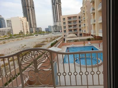 1 Bedroom Flat for Sale in Jumeirah Village Circle (JVC), Dubai - Pool view   Spacious 1 bed with Storage   Vacant