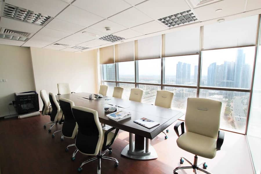 Unfurnished Fitted Office I Mid Flr ITiffany Tower