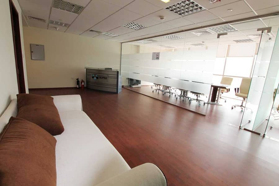 2 Unfurnished Fitted Office I Mid Flr ITiffany Tower
