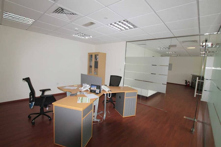 12 Unfurnished Fitted Office I Mid Flr ITiffany Tower