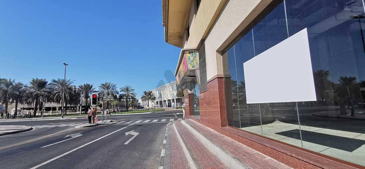 Facing Road - Biggest Retail - Al Ghudaiba