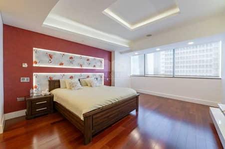 شقة 3 غرف نوم للايجار في مركز دبي التجاري العالمي، دبي - Fully Upgraded   Furnished 3 Bed Duplex   Burj Khalifa View