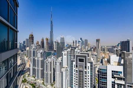 4 Bedroom Penthouse for Sale in Business Bay, Dubai - Stunning  View of Burj Khalifa | Duplex Penthouse