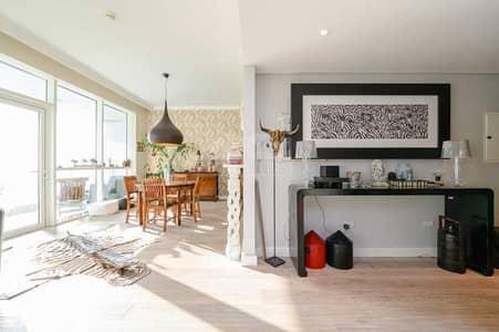 شقة 2 غرفة نوم للبيع في جميرا بيتش ريزيدنس، دبي - Upgraded Apartment with Partial Sea View
