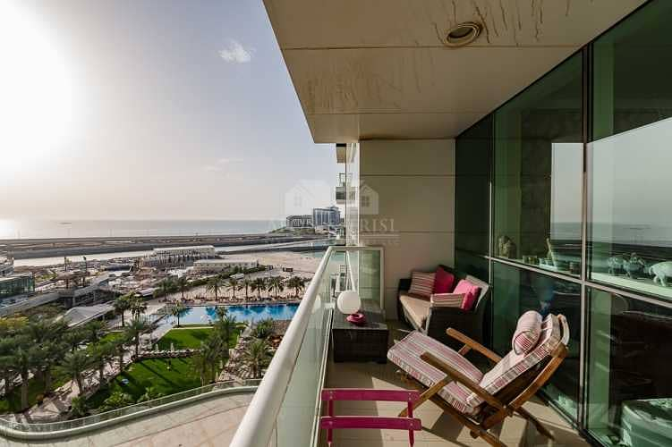 2 Upgraded Apartment with Partial Sea View