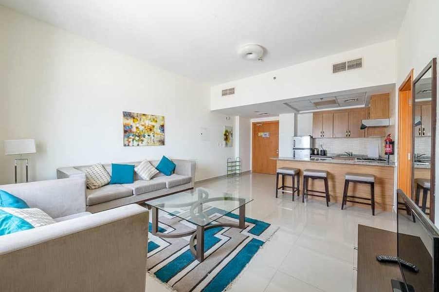 Furnished 1 Bed   High Floor   Suburbia Tower B