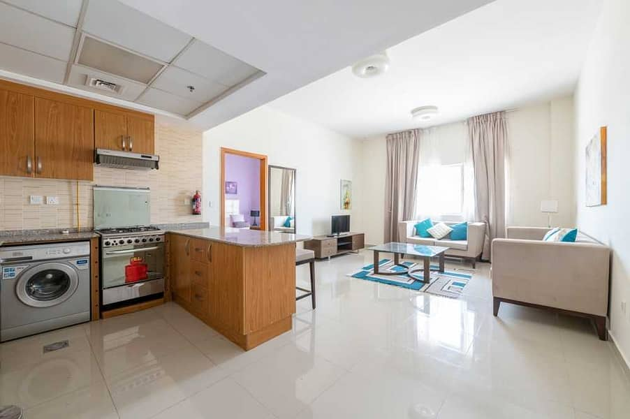 13 Furnished 1 Bed   High Floor   Suburbia Tower B