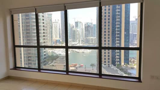 1 Bedroom Flat for Rent in Jumeirah Beach Residence (JBR), Dubai - Unique Layout | Full Marina View | Exclusive